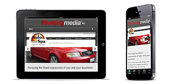 Mobile Responsive Website Development Bay Area